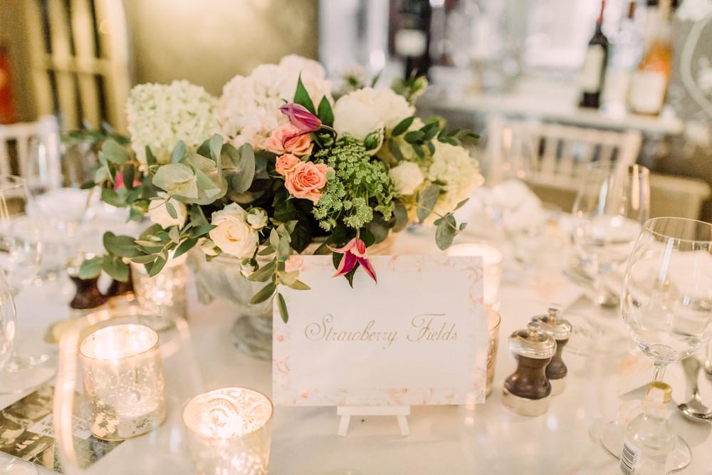 Table Name Stationery Pheasant Harome Wedding Yorkshire Arabella Smith Photography