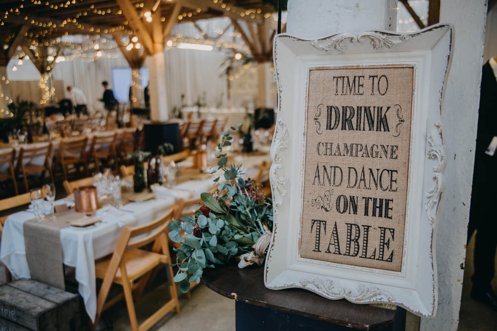 Railway Barn Wedding Lottie Photography
