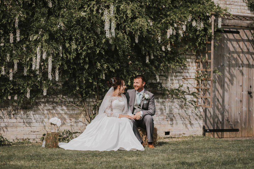 Outdoor Farm Field Wheat Rustic Garden Marquee Bride Groom | Fun and Relaxed Scrivelsby Walled Garden Wedding Brook Rose Photography