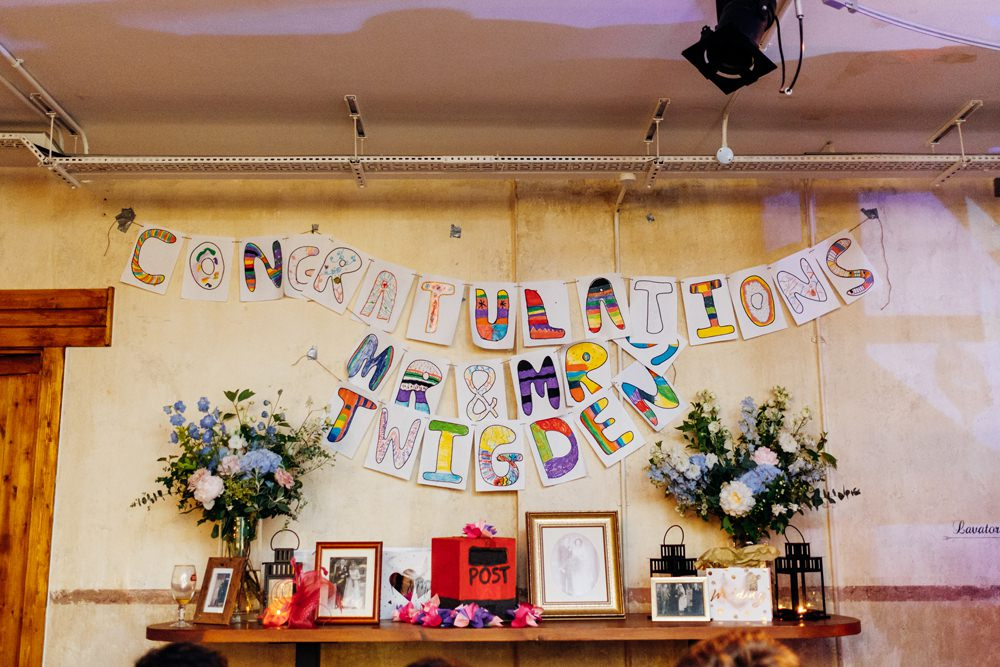 Congratulations Mr & Mrs Banner Children Tanner Warehouse Wedding Marianne Chua Photography