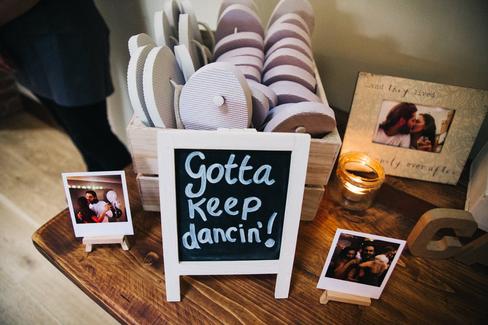 Flip Flops Dancing Wray's Barn Whinstone View Wedding Sally T Photography
