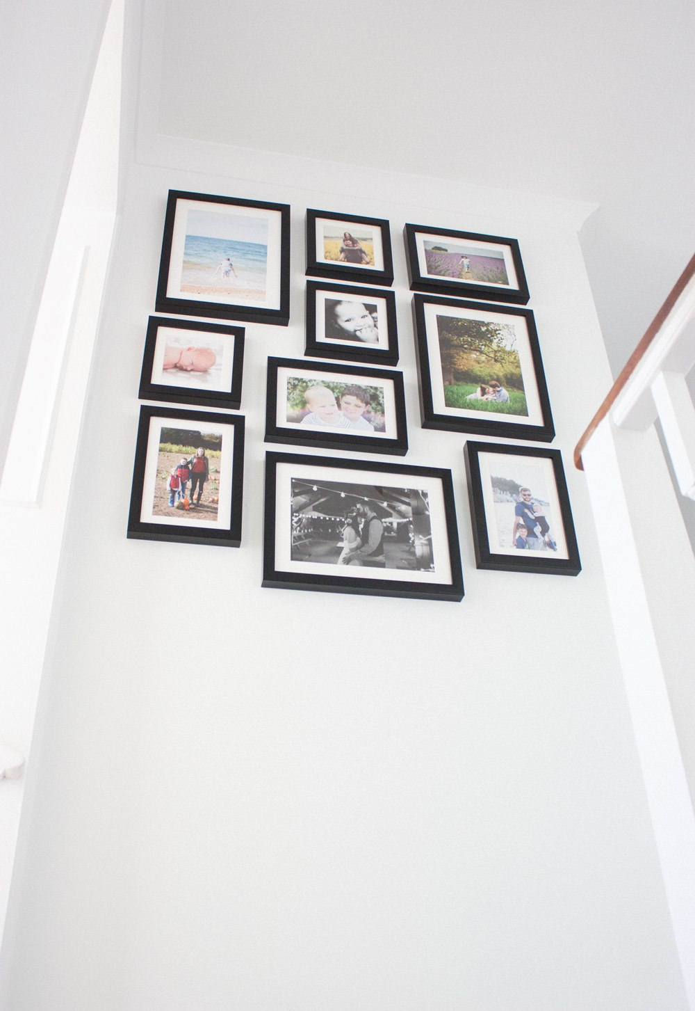 Wedding Photos Print Gallery Wall