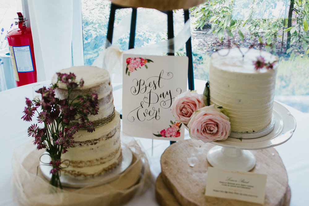 Buttercream Cake Peony Floral Anna Carriga Wedding Honey and the Moon Photography
