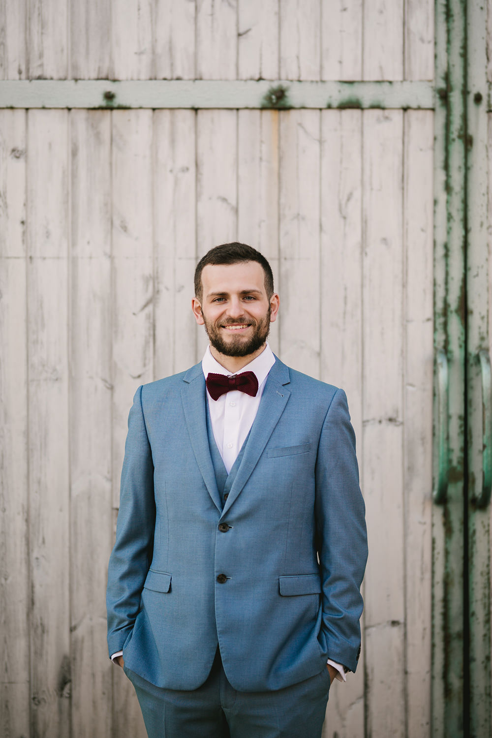 Groom Suit Blue Bowtie Red Dark Budgundy Antique Moody Floral Farm Wedding Ideas Jemma King Photography