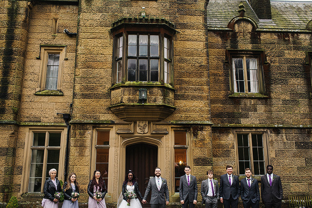 Cressbrook Hall Wedding Paul Joseph Photography
