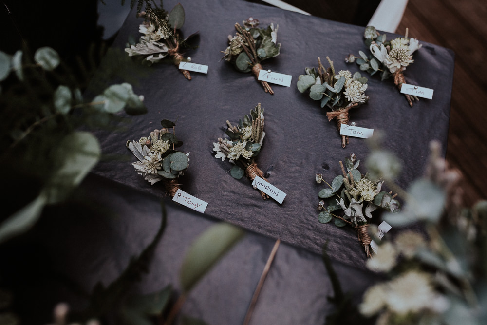 Buttonholes Faversham Wedding Leeds Steven Haddock Photography