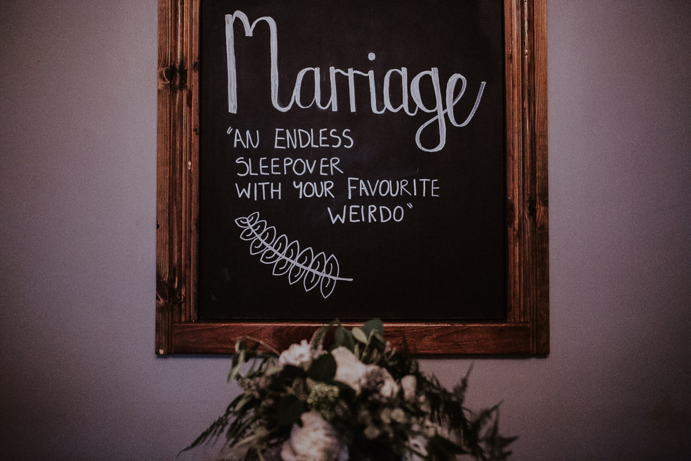 Love Quote Sign Marriage Faversham Wedding Leeds Steven Haddock Photography