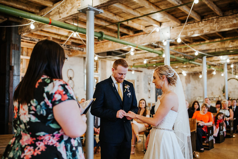 Holmes Mill Wedding Emilie May Photography