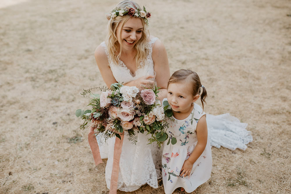 Flower Girl Norwich Cathedral Wedding Camilla Andrea Photography