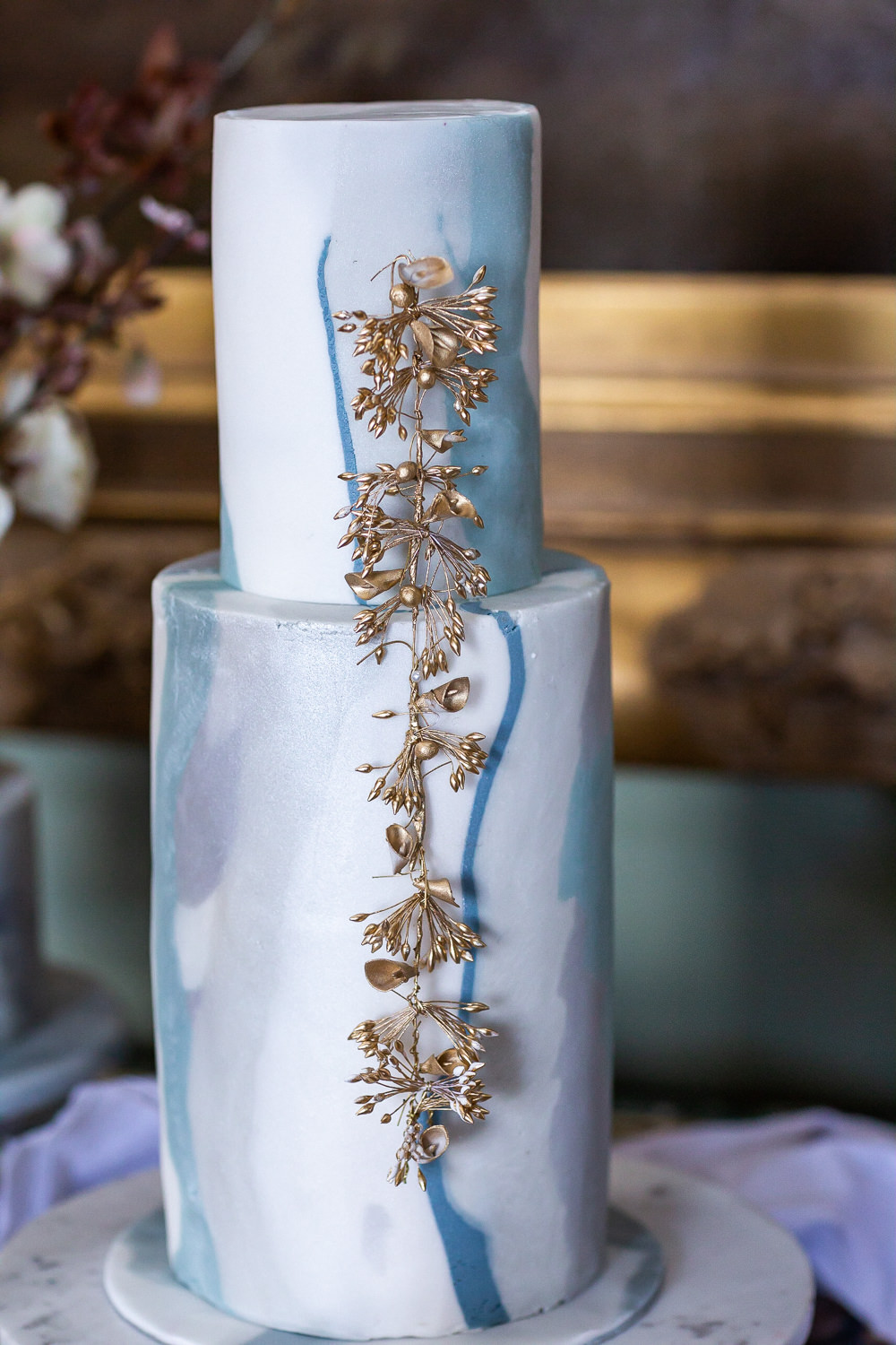 Modern Dance Ballet Inspired Fine Art Editorial Somerley House Cakes Dessert Table Kate Burt | Romantic Soft Wedding Ideas Siobhan H Photography