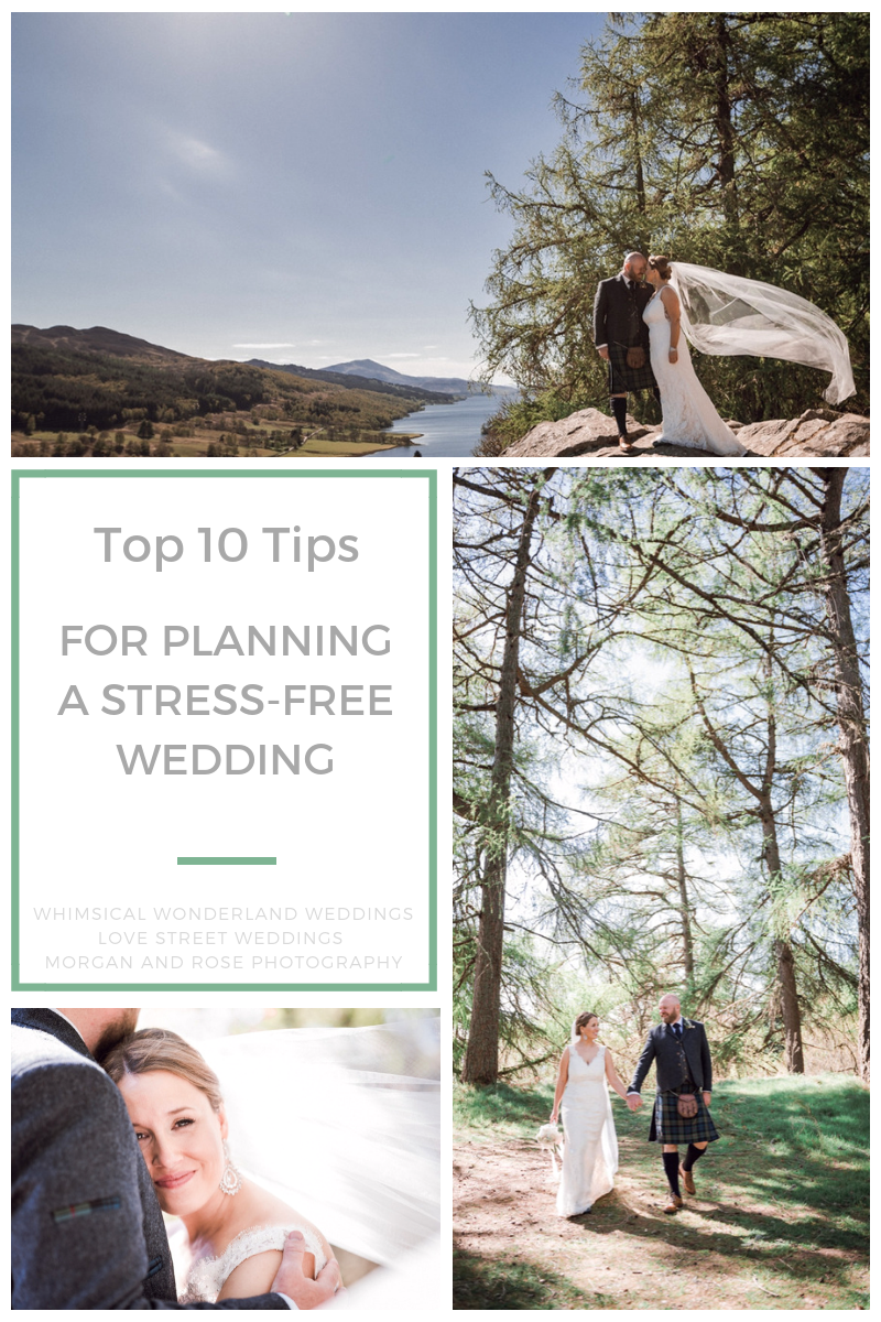 Stress Free Wedding Planning Morgan and Rose Photography