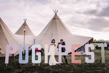Whimsical & Romantic Festival Wedding