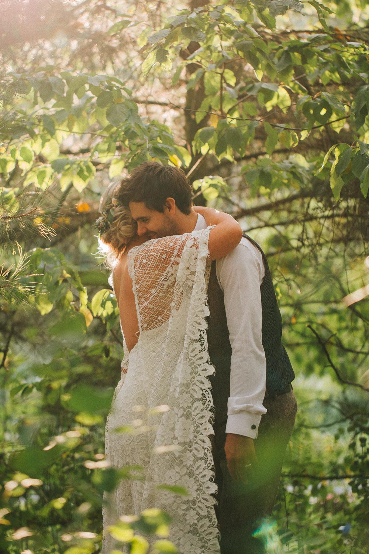Dress Gown Bride Bridal Grace Loves Lace Sleeves Boho Bohemian Skirt Split Crab Lobster Wedding A Little Picture