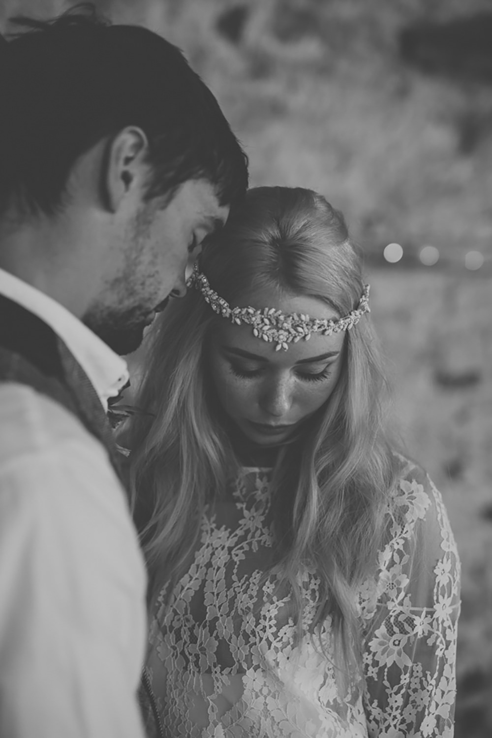 Bride Bridal Accessory Hair Headdress Forehead Bohemian Free Spirited Wedding Ideas Woodland Lumiere Photographic