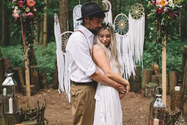 Free Spirited Woodland Wedding Ideas