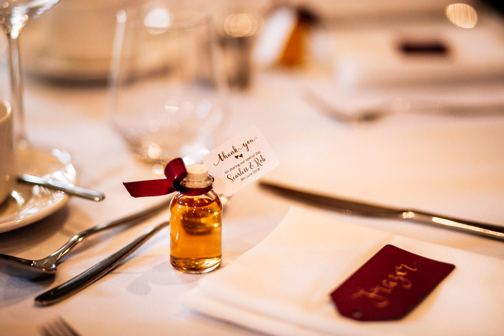Bottle Drink Favours Mini Gamekeepers Inn Wedding Fairclough Studios