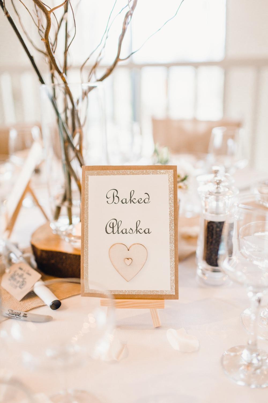 Table Names Frame Pudding Dessert Llanrhaeadr Springs Wedding Jessica Reeve Photography