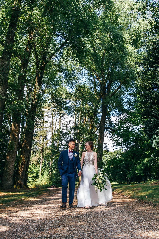 Long Barn Wedding Three Flowers Photography