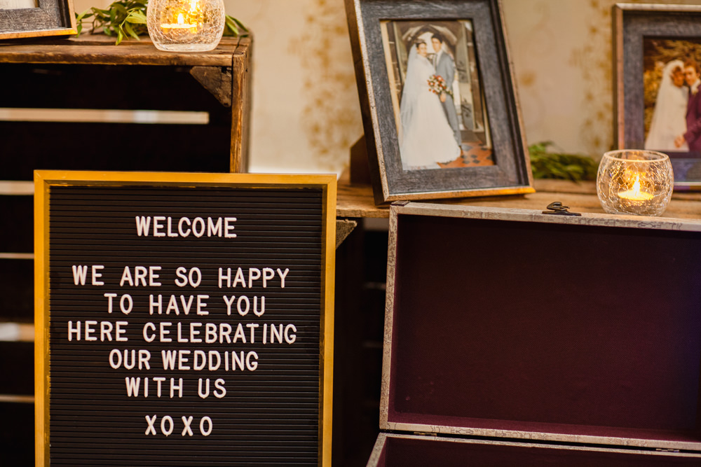 Cinema Board Lettering Peg Manchester Museum Wedding Chris Barber Photography