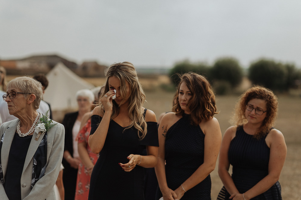 Bridesmaids Dress Dresses Black Riverside Weddings Oxfordshire Yurt Luis Calow Photographer