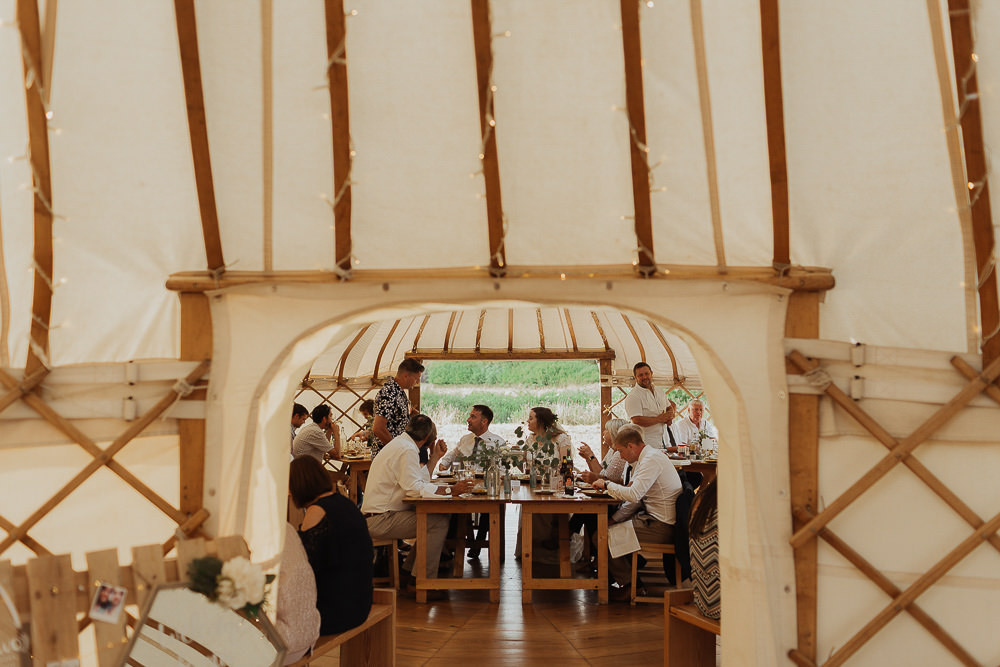Riverside Weddings Oxfordshire Yurt Luis Calow Photographer