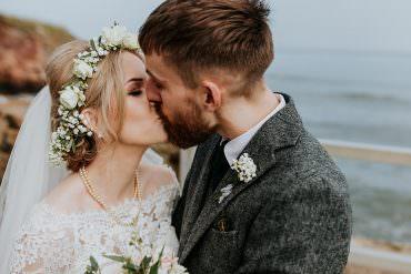 Scandi Chic Inspired Wedding with an Abundance of Foliage