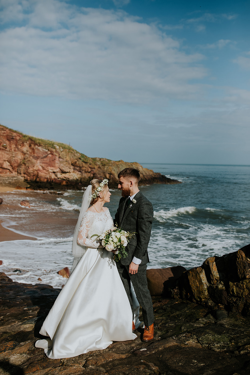 Scandi Foliage Wedding Ross Alexander Photography