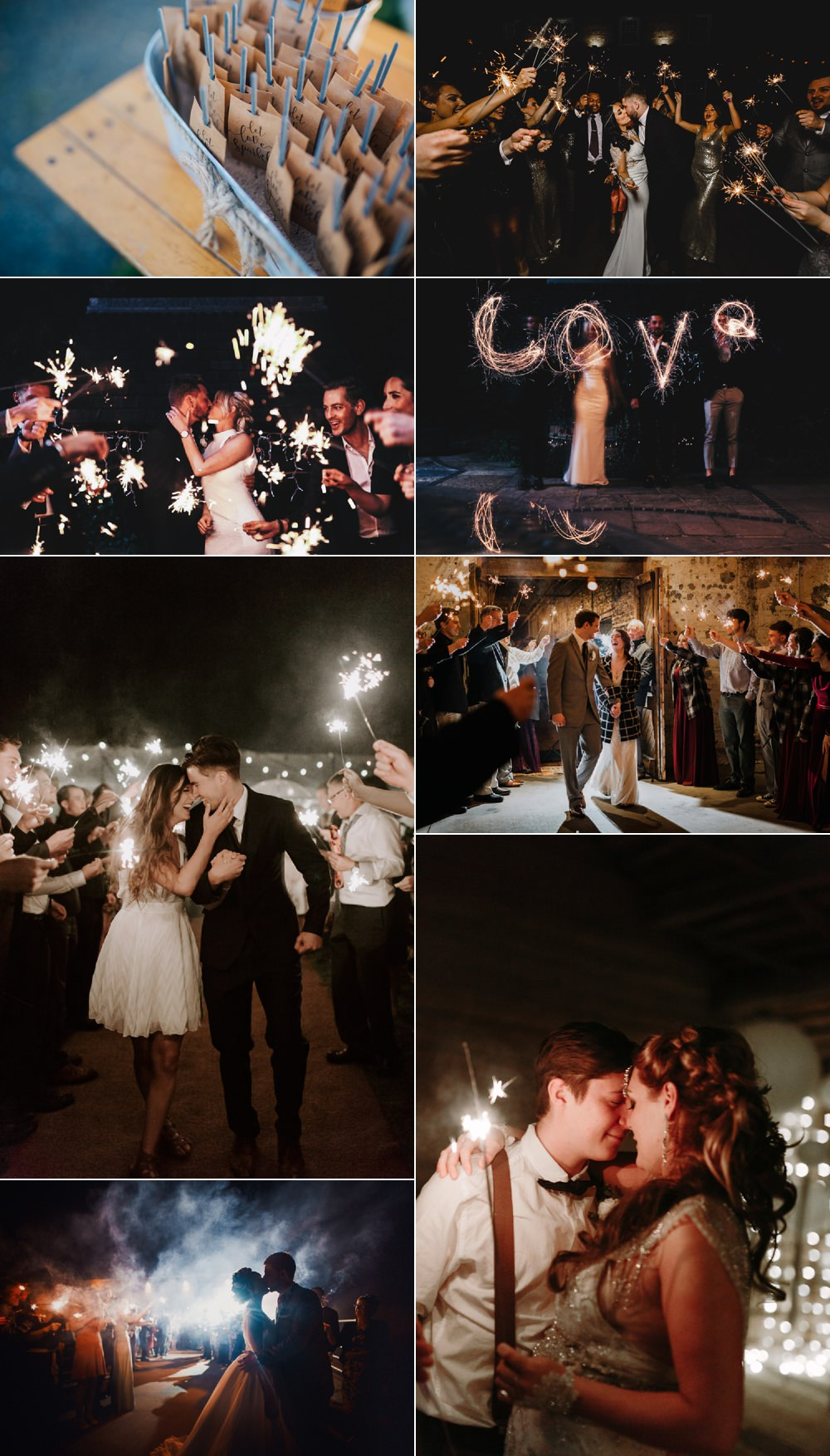 Tips Ideas For Sparklers And Fireworks At Your Wedding