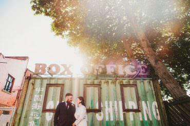 Unpretentious City Warehouse Party Wedding