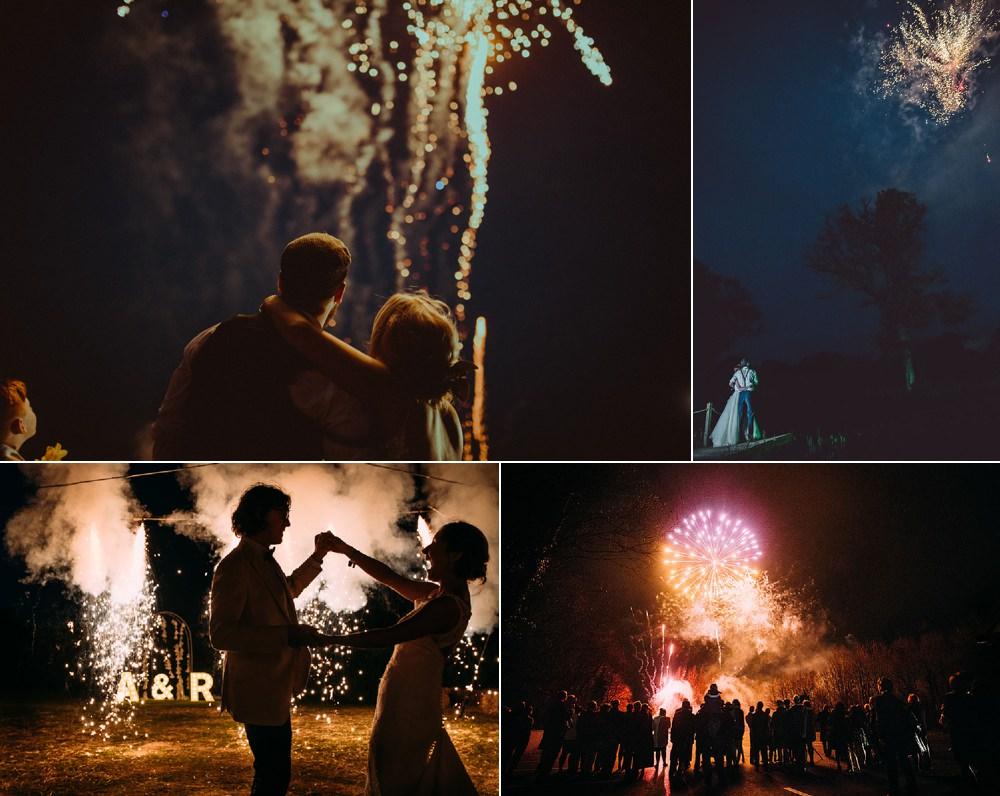 Wedding Sparklers Fireworks Inspiration