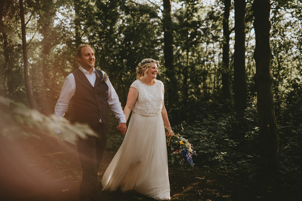 Bride Bridal Separates Dress Gown Catherine Deane Skirt Top Applewood Wedding Flawless Photography