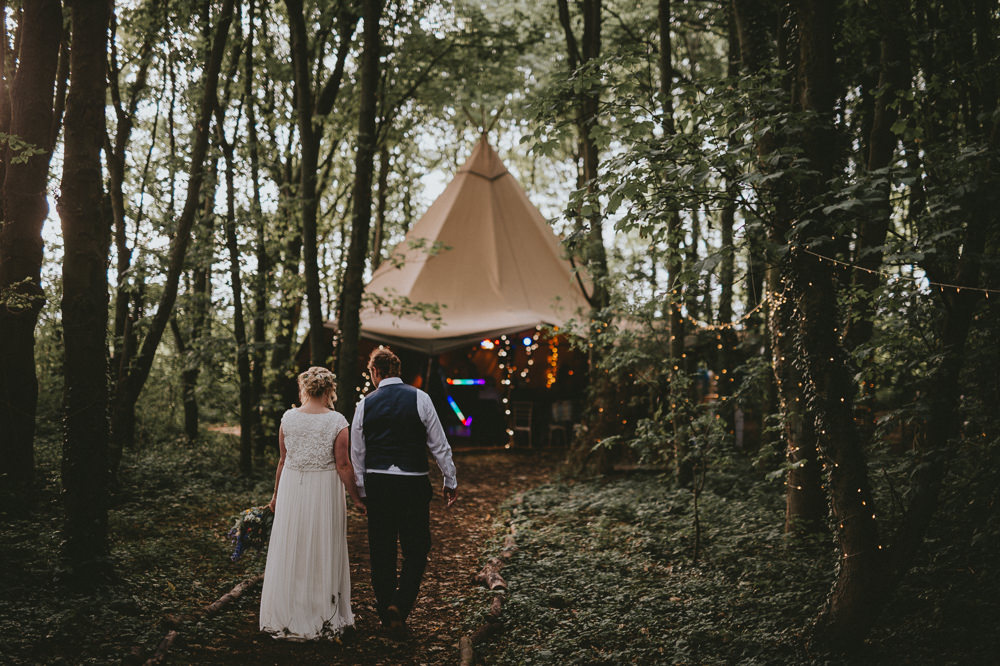 Tipi Woodland Outdoor Applewood Wedding Flawless Photography