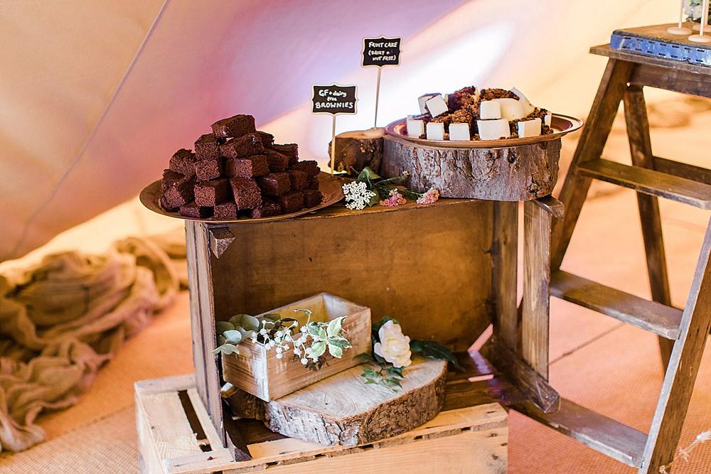 Rustic Wooden Cake Dessert Table Chiltern Open Air Museum Wedding Terri & Lori Fine Art Photography