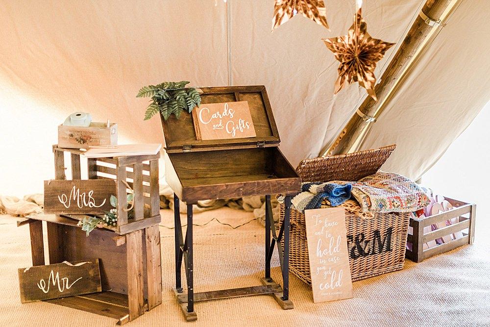 Card Gift Table Desk Wooden Rustic Chiltern Open Air Museum Wedding Terri & Lori Fine Art Photography