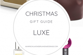 Christmas Gift Guide Blog UK 2018