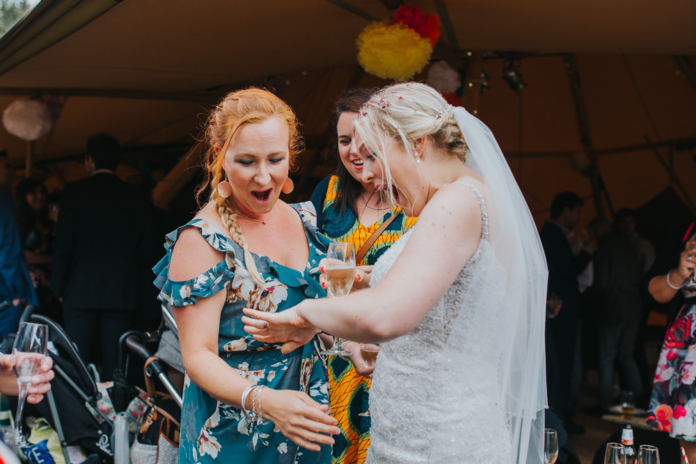 Colourful Tipi Wedding Charlotte Razzell Photography