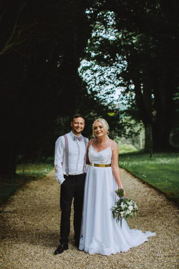 Drenagh House Estate Wedding Monochrome Honey and the Moon Photography