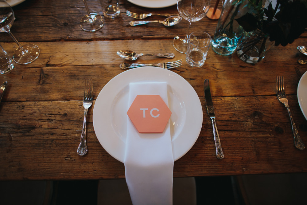 Geographic Table Name Stationery Godwick Great Barn Wedding Joshua Patrick Photography