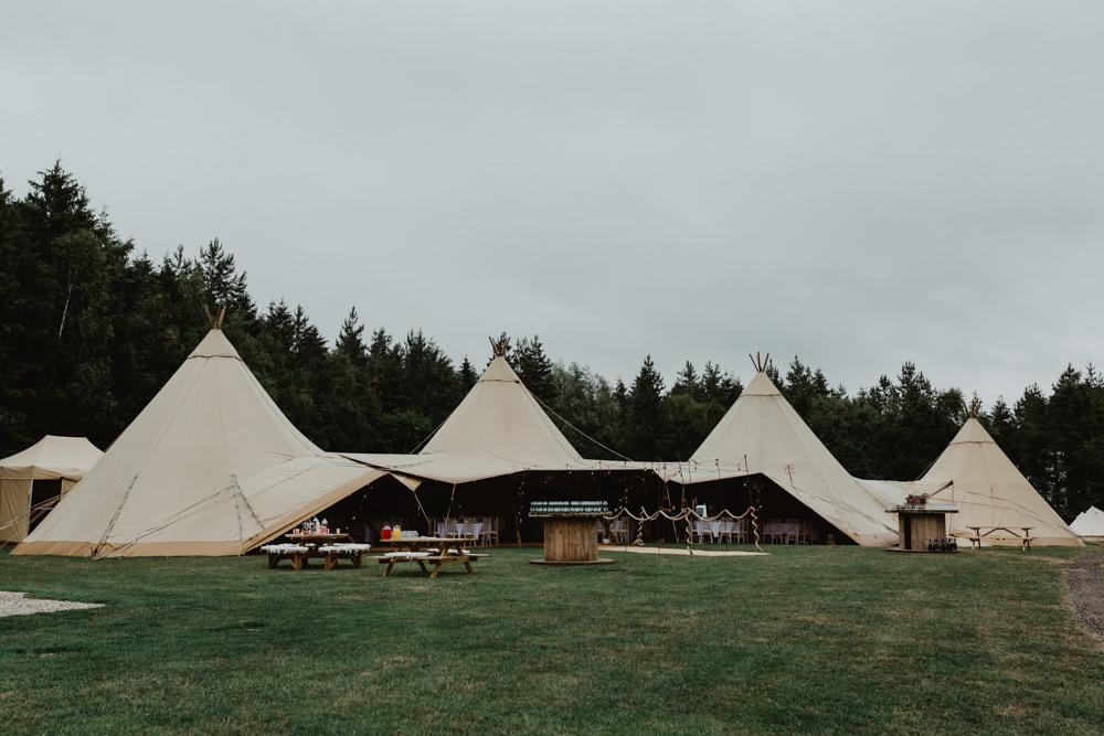 Tipi Hobbit Hill Wedding Stevie Jay Photography