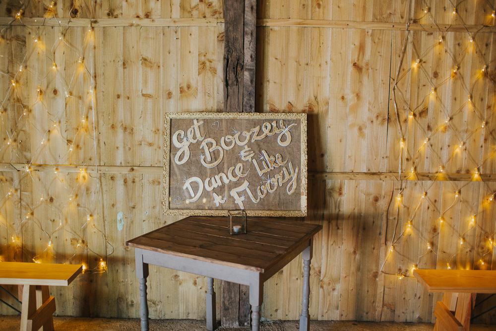 Sign Get Boozy Minnehaha Events Wedding Lisa Webb Photography