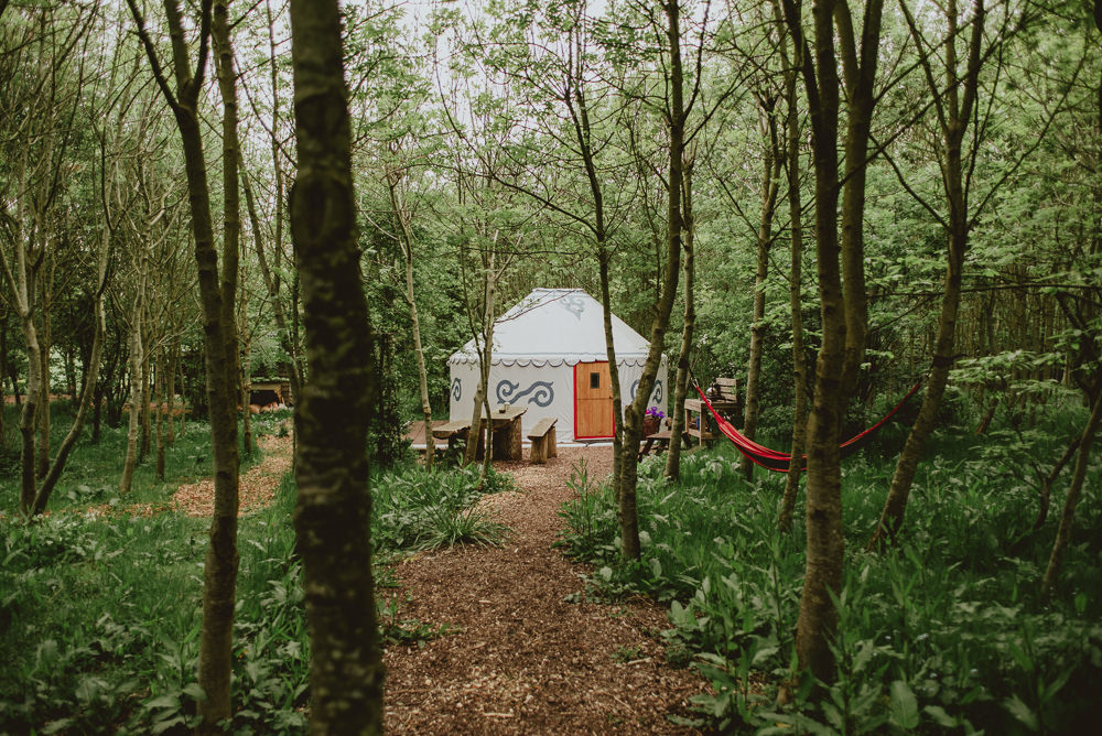 Yurt Woods Woodland Plush Tents Glamping Wedding Big Bouquet Photography