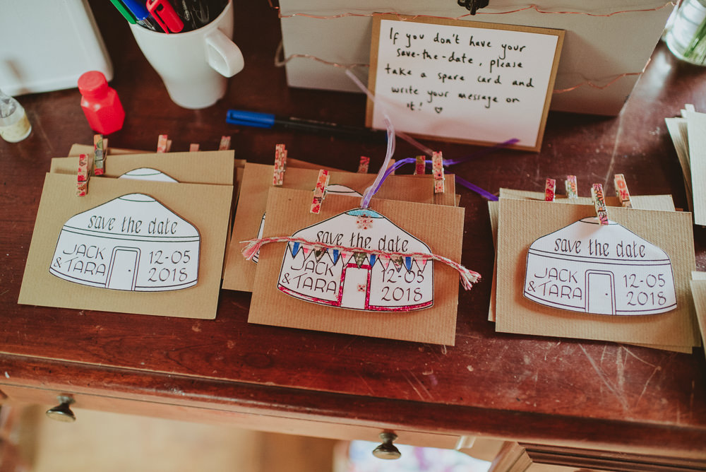 Yurt Stationery Save The Date Invites Invitations Plush Tents Glamping Wedding Big Bouquet Photography