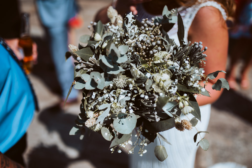 Bouquet Flowers Bride Bridal Greenery Foliage Eucalyptus Gypsophila Windmill Barn Wedding Pocket Square Photography