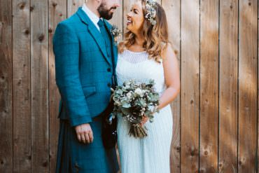 Chilled Out & Rustic Barn Wedding
