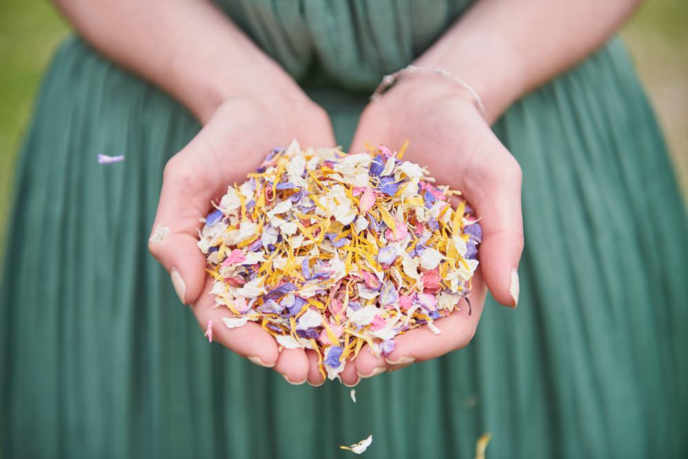 Shropshire Petals - Biodegradable Confetti Mix Tutti Fruity