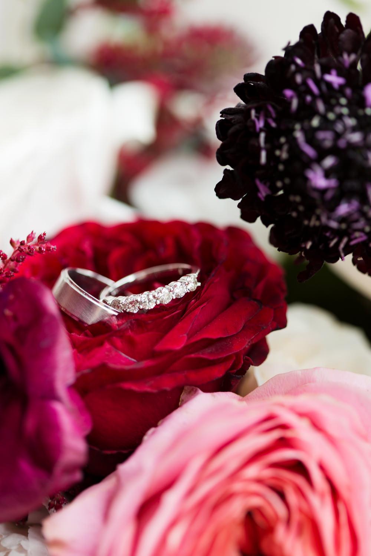 Diamond Eternity Ring Band Stotesbury Mansion Wedding Mariya Stecklair Photography