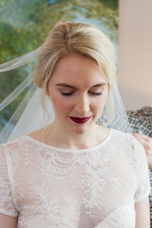Dress Gown Lace Sheer Bride Bridal Sleeves Stotesbury Mansion Wedding Mariya Stecklair Photography