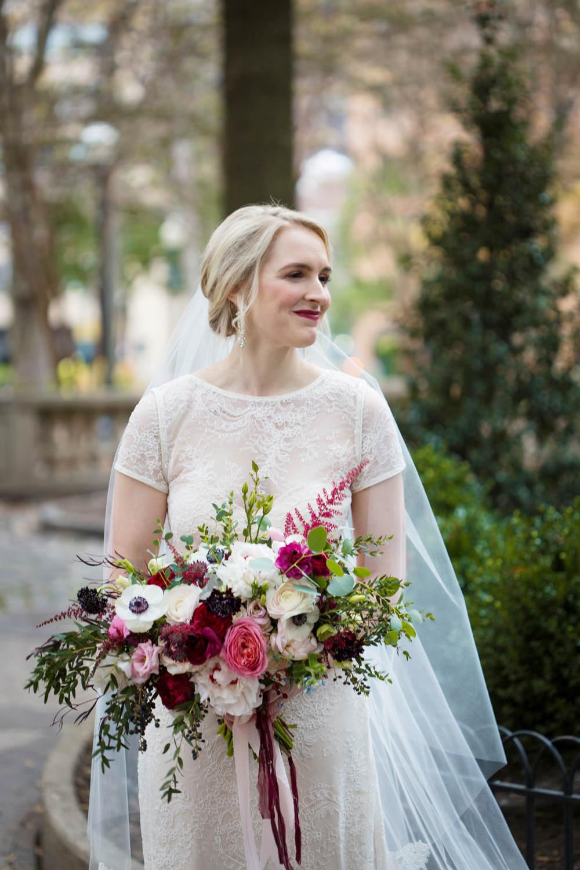 Dress Gown Lace Sheer Bride Bridal Sleeves Veil Stotesbury Mansion Wedding Mariya Stecklair Photography