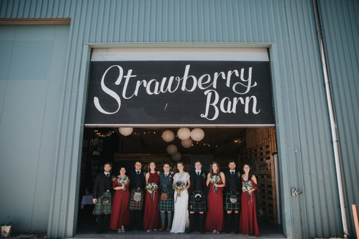 Strawberry Barn Wedding Jen Owens Images