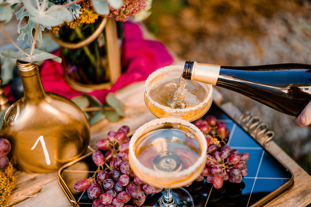 Cocktails Drinks Autumnal Fairytale Wedding Ideas Miriam Peuser Photography